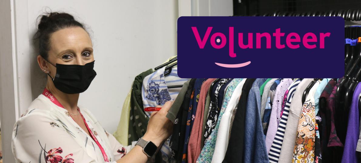 Volunteer event (web banner)